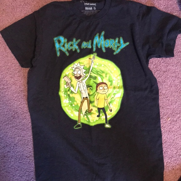 Hot Topic Other - rick and morty tee